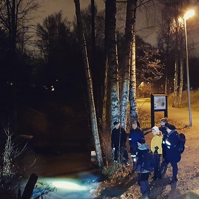Eilinen ilta meni @longinoja näissä merkeissä. Juttu retkestä tulossa @maaseuduntulevaisuus -lehdessä lähiaikoina.