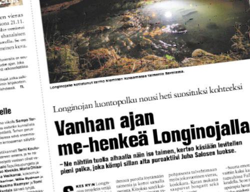 Koillis-Helsingin Lähitieto: Longinojan luontopolku nousi heti suosituksi kohteeksi – Vanhan ajan me-henkeä Longinojalla