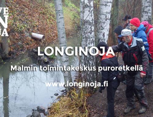 Malmin toimintakeskus tutustui Longinojan uuteen luontopolkuun
