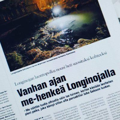 Pääsitkö sinä kokemaan Longinojan yhteisöllisen ME-hengen? Lue uusin Koillis-Helsingin Lähitiedon juttu Longinojasta www.Longinoja.fi-etusivulta.