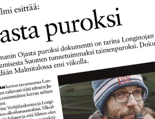 Koillis-Helsingin Lähitieto: Laavu Filmi esittää: Ojasta puroksi