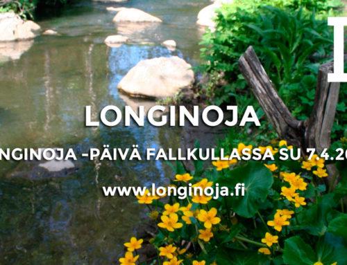 Longinoja -päivä Fallkullan kotieläintilalla su 7.4.2019 klo 10-14