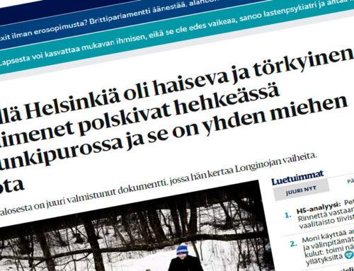 Helsingin sanomat: Keskellä Helsinkiä oli haiseva ja törkyinen oja – Nyt taimenet polskivat hehkeässä kaupunkipurossa ja se on yhden miehen ansiota