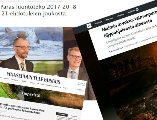 Longinoja media-arkisto 2019