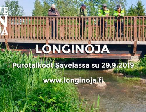 Longinojan purotalkoot su 29.9.2019 Savelassa