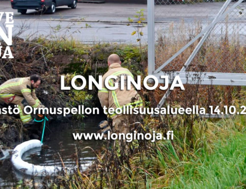 Päästö Ormuspellon teollisuusalueella 14.10.2019