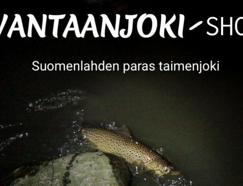 Kalastajan maailma: Vantaanjoki show